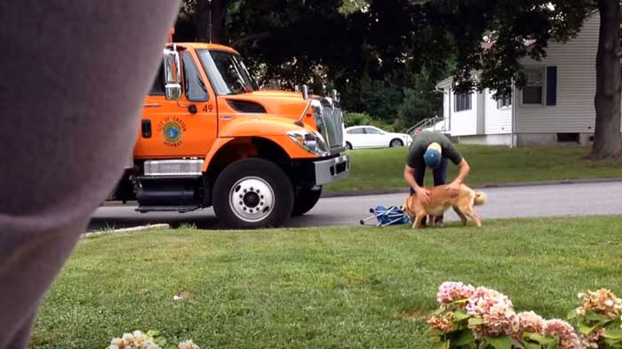 A Garbage Man Didn't Know He Was On Camera, What They Caught Him Doing Took My Breath Away